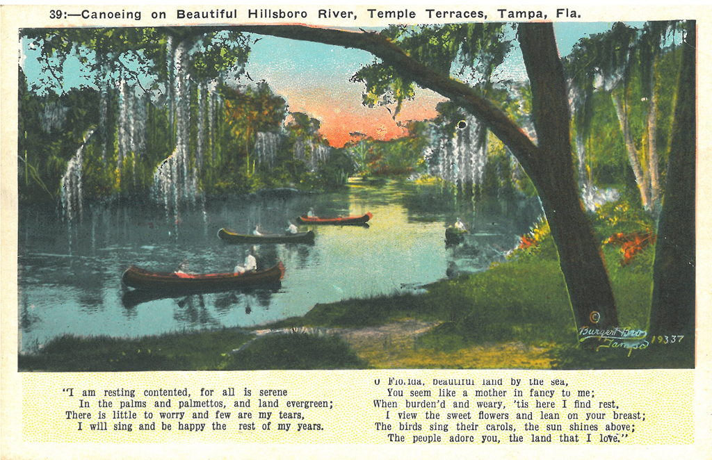 Canoeing on River Temple Terrace