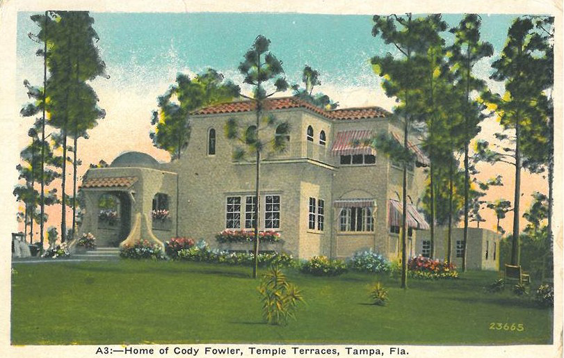 Cody Fowler Home Temple Terrace 1929