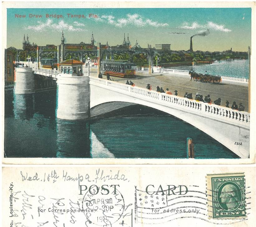 New Draw Bridge 1919
