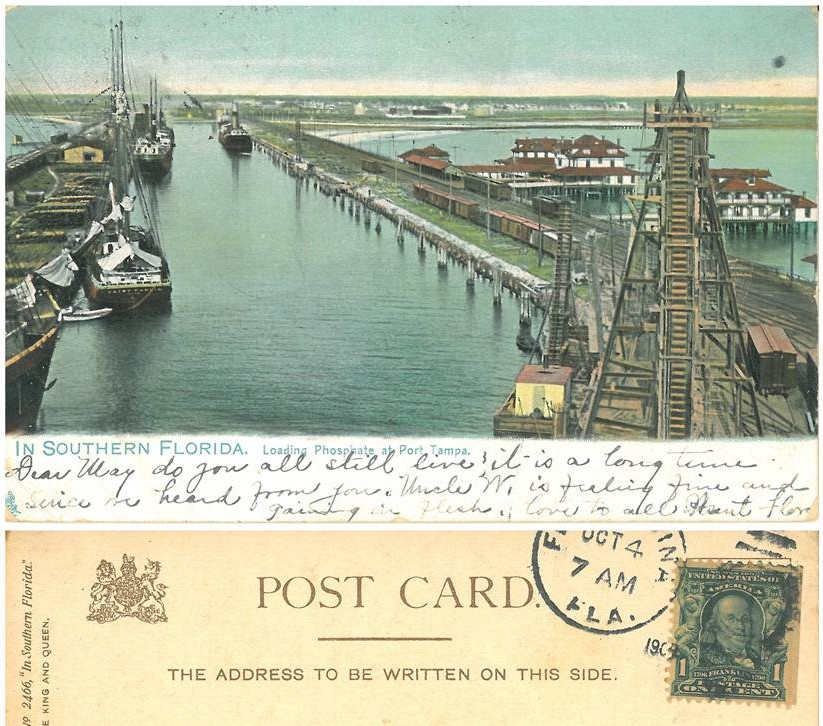 Port of Tampa 1909