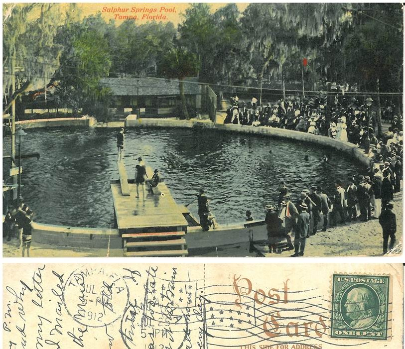 Sulphur Springs Pool 1912