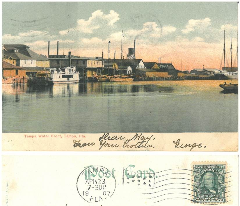 Tampa Waterfront 1907