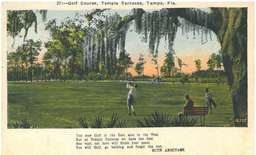 Temple Terrace Golf Course 1925